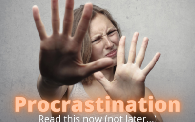 Procrastination:  How to overcome it