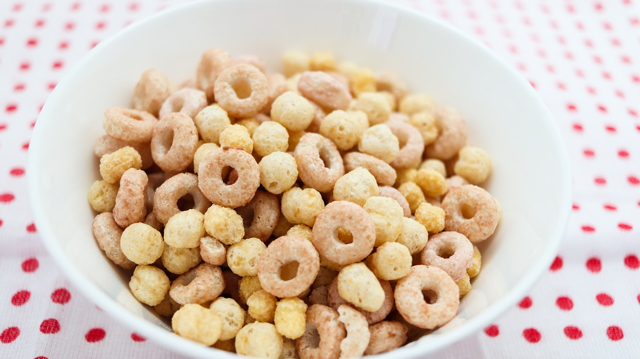 40g bowl of cereal hoops
